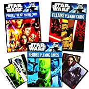 Star Wars Classic Trilogy Playing Cards - Set of 3 Decks by Cartamundi