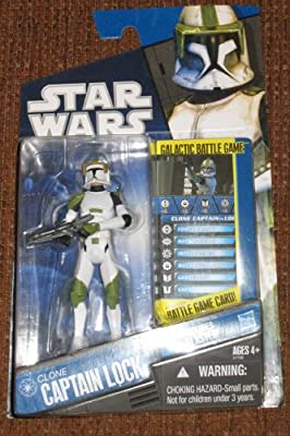 Star Wars Clone Wars Exclusive Action Figure Clone Captain Lock