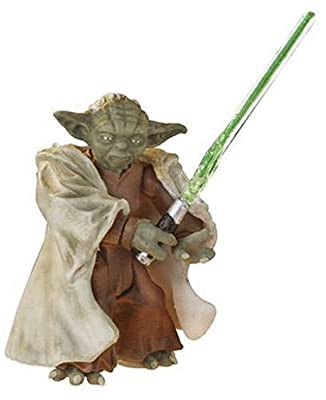 Star Wars Episode III 3 Revenge of the Sith YODA Firing Cannon Figure #03