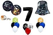 Star Wars Force Awakens 7th Birthday Balloon Bouquet