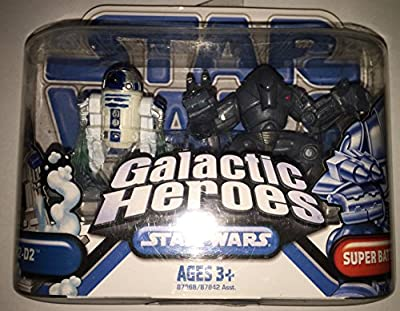 Star Wars Galactic Heroes R2-D2 and amp; Super Battle Droid
