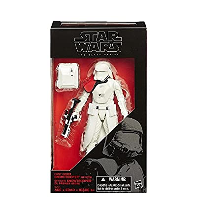 Star Wars The Black Series 6-Inch First Order Snowtrooper Officer