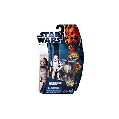 Star Wars The Clone Wars Clone Trooper Phase II Armor 3.5 Inch Scale Action Figure CW2