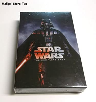 Star Wars: The Complete Saga (I,II,III,IV, V, VI, 12-Disc Box Set) DVD FORMAT free new shipping