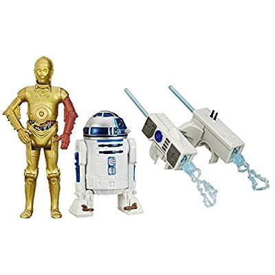 Star Wars The Force Awakens 3.75-Inch Figure 2-Pack Snow Mission R2-D2 and C-3PO