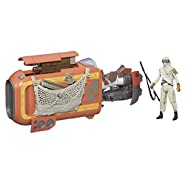 Star Wars The Force Awakens 3.75-inch Vehicle Rey's Speeder Bike (Jakku)