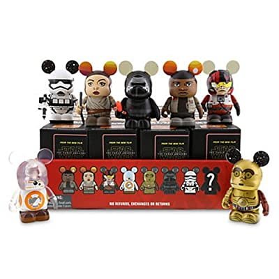 "Star Wars The Force Awakens ONE Unopened Box Disney Vinylmation 3"" Figure"