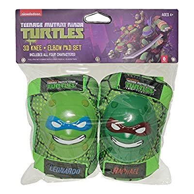 Teenage Mutant Ninja Turtle Knee and Elbow Pads