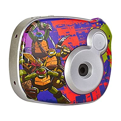 Teenage Mutant Ninja Turtles 98365 2Digital Camera with 1-Inch LCD (Purple)