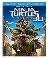Teenage Mutant Ninja Turtles (Blu-ray 3D + Blu-ray + DVD + Digital HD)