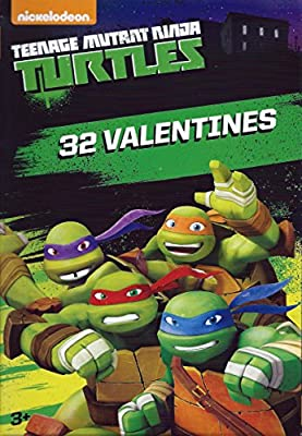 Teenage Mutant Ninja Turtles - Box of 32 Valentines Day Cards