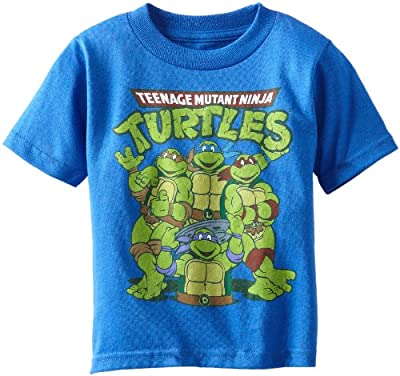 Teenage Mutant Ninja Turtles Boys' Group Tee