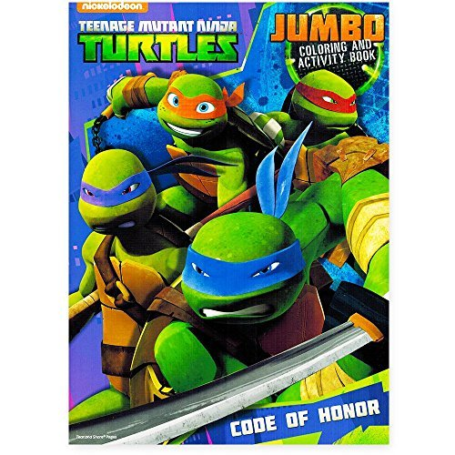 Teenage Mutant Ninja Turtles Coloring and Activity Book Set with ...