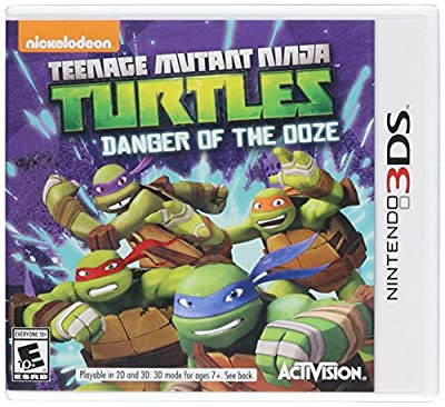 Teenage Mutant Ninja Turtles: Danger of the OOZE - Nintendo 3DS