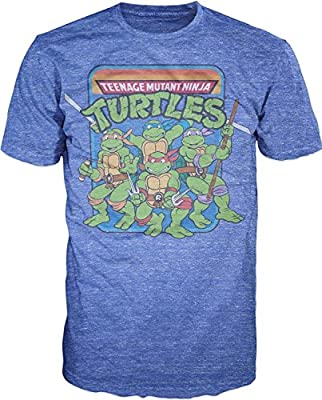 Teenage Mutant Ninja Turtles Group Image T-Shirt