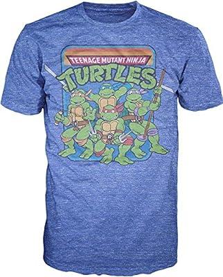 Teenage Mutant Ninja Turtles Group Image T-Shirt