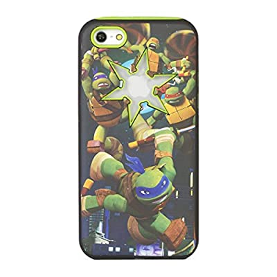 Teenage Mutant Ninja Turtles Hard-Shell iPhone 5c Case - Retail Packaging - Green