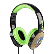 Teenage Mutant Ninja Turtles Headphones With Changing Face Plate