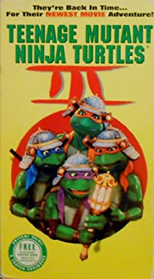 Teenage Mutant Ninja Turtles III [VHS]