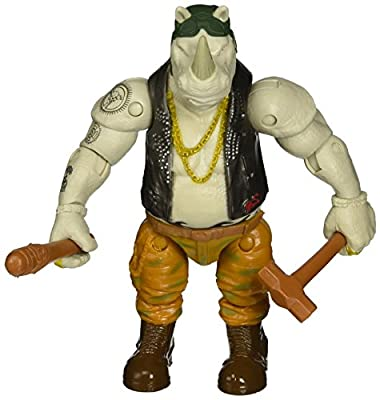 Teenage Mutant Ninja Turtles Movie 2 Out Of The Shadows Rocksteady Basic Figure