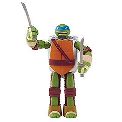 Teenage Mutant Ninja Turtles Mutations Figure To Weapon Leonardo Action Figure