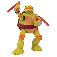 Teenage Mutant Ninja Turtles Mutations Pet To Ninja Michelangelo Action Figure