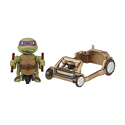 Teenage Mutant Ninja Turtles T-Sprints Dasher Donatello with Patrol Buggy Basic Figure