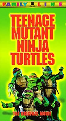 Teenage Mutant Ninja Turtles - The Original Movie [VHS]