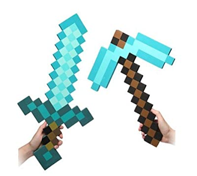 ThinkGeek Officially Licensed Minecraft Foam Diamond Sword
