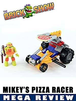 TMNT Mega Bloks Mikey's Pizza Racer Review