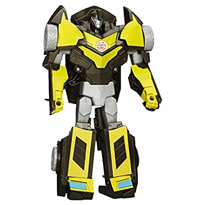 Transformers Robots in Disguise 3-Step Changers Night Ops Bumblebee Figure