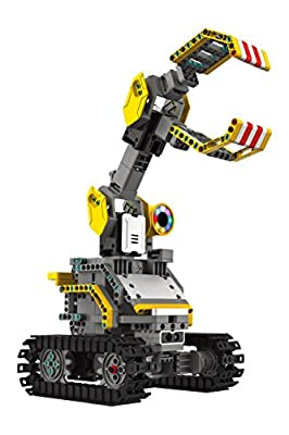 "UBTECH Builderbots Kit Interactive Robotic Building Block System (303 Piece), 8"" x 6"""