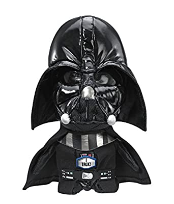 "Underground Toys Star Wars Plush - Stuffed Talking 9"" Darth Vader Character Plush Toy"
