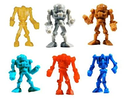 Warbots - TINY Robot Toy Figures - Lot of 20